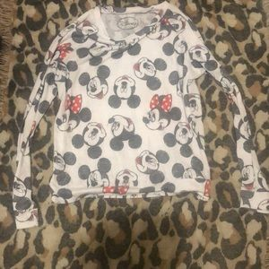 Disney long light fabric sweater